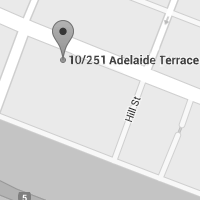 Perth office map