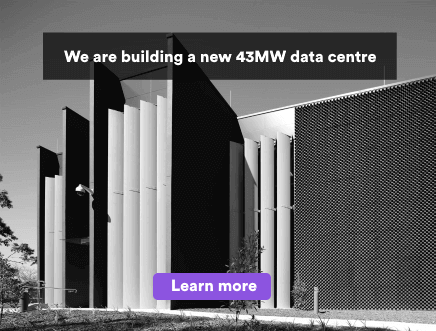 We are building a new 43MW data centre