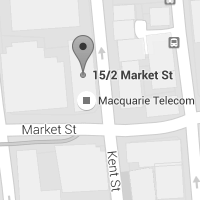 Contact Macquarie Government to discuss your VMware cloud needs - Sydney office map