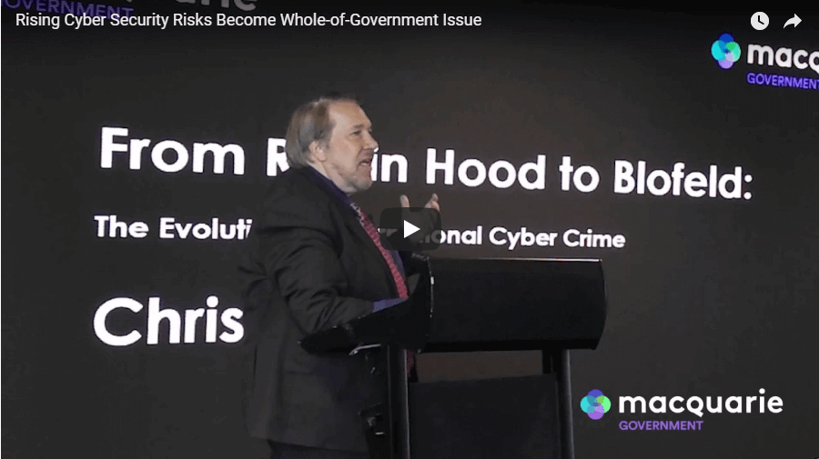 Cyber security risks video - Chris Painter