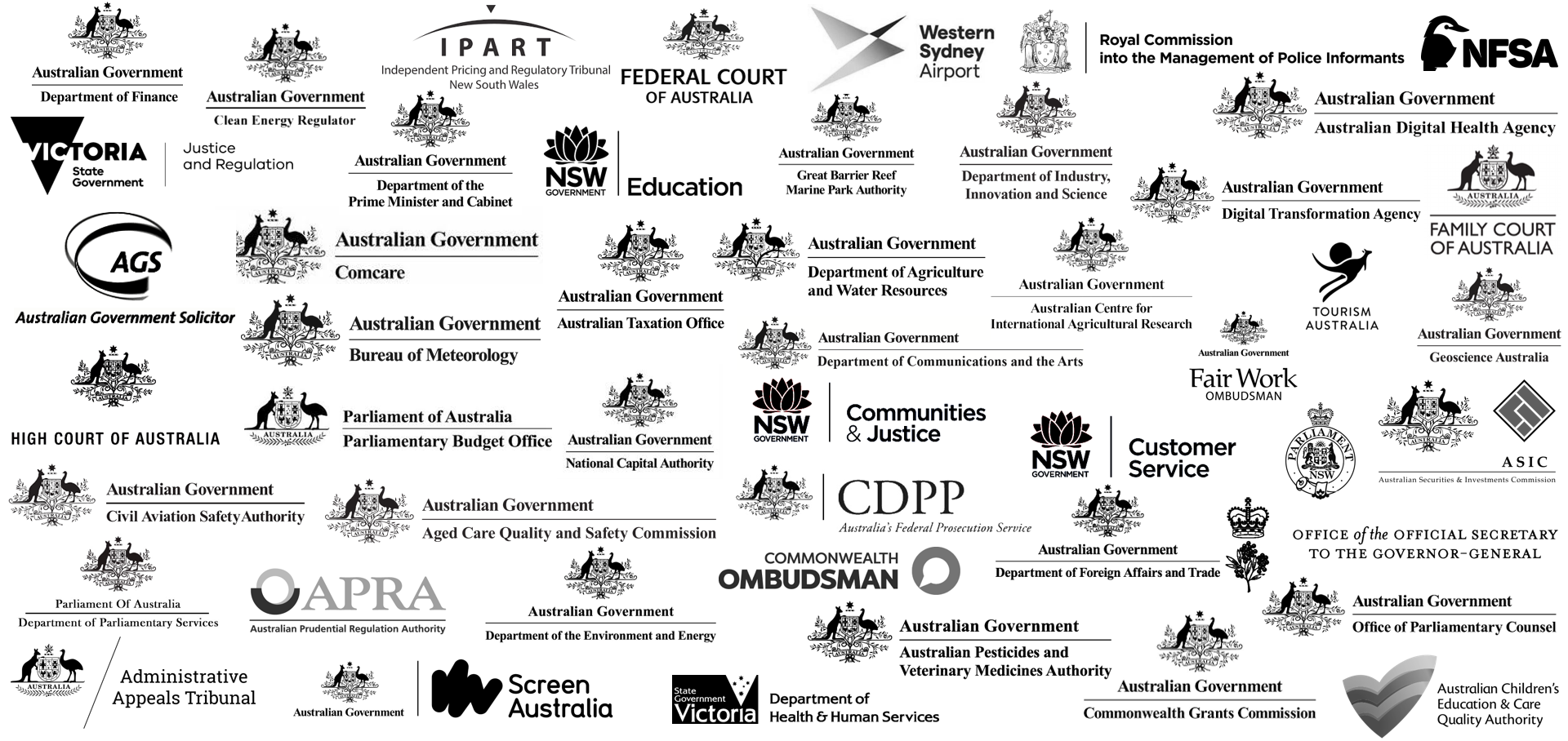 Government partner logos