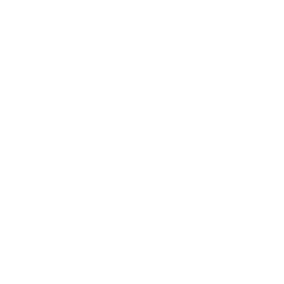 Work from home icon - white