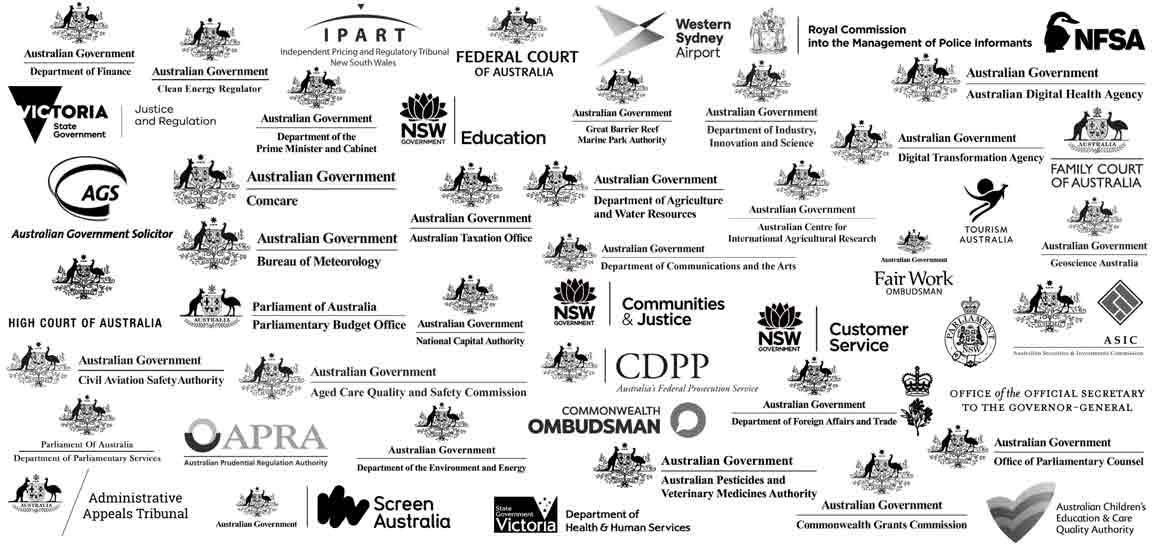 Macquarie Government - Our Partner Logos