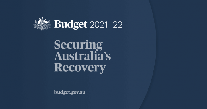 Federal Budget 21-22   Securing Australia's Recovery